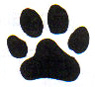 large punch-paw print