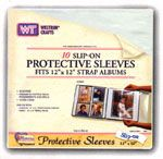 Westrim 12X12 slip on page protectors