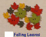 buttons-falling leaves