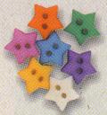 KF Pastel Mini Star Buttons