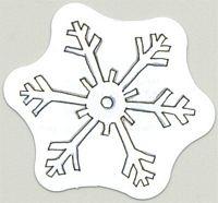 MME Mini Die Cuts Snowflakes