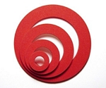 Candy Apple Circle shaker shapes