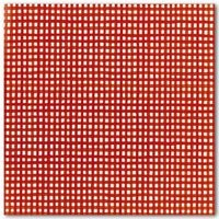 red gingham paper
