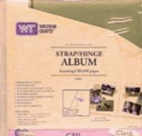 12 X12 Westrim Cloth Album - sage