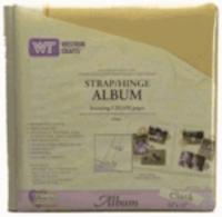 12 X12 Westtrim Cloth Album - buttercream